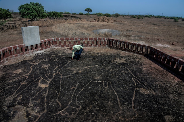 Ancient rock art discovered in the plains of India