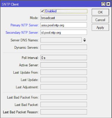 ntp client