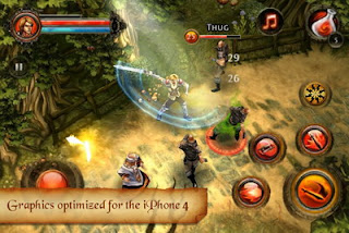 Dungeon Hunter 2 iPhone game available for download