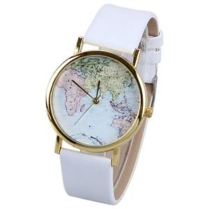 montre carte du monde femme