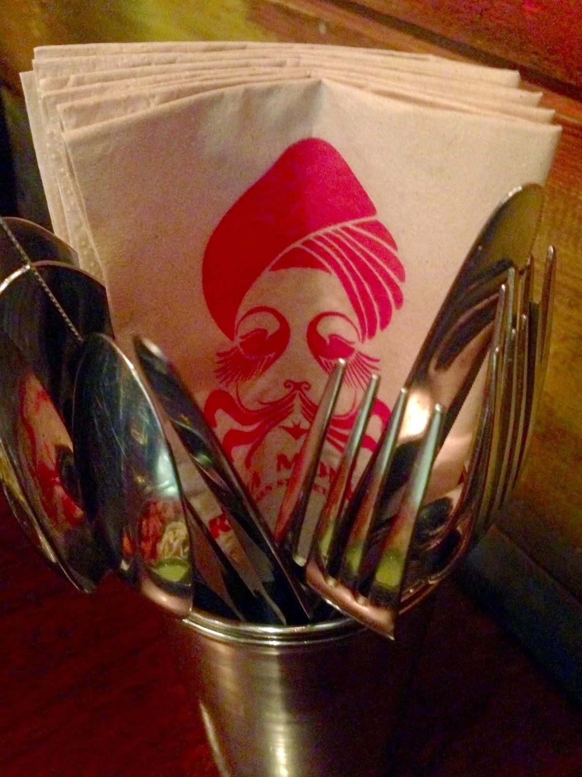 cutlery tin at raja monkey gingeybites visit