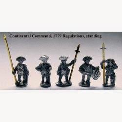 AWA20 Continental command, 1779 Reg's, standing.