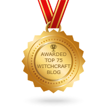 Awarded Top 75 Witchcraft Blogs!!!! 2017