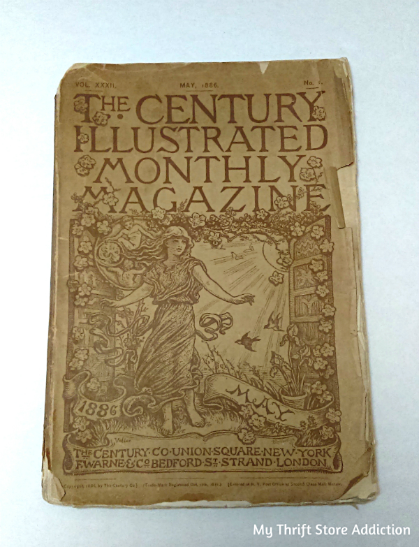vintage Century Illustrated Monthly magazine 1886