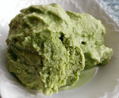 Lody z japońską zieloną herbatą
