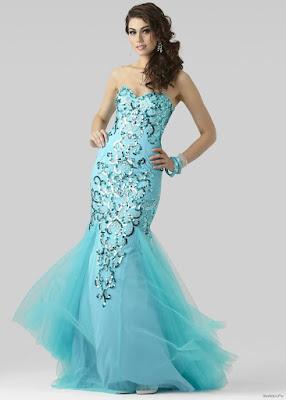 Vestidos con Cola de Sirena