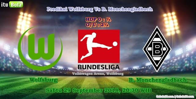 Prediksi Wolfsburg Vs B. Monchengladbach - ituBola