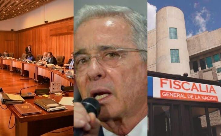 Corte Suprema envía investigación del expresidente Uribe a la Fiscalía... En desarrollo…