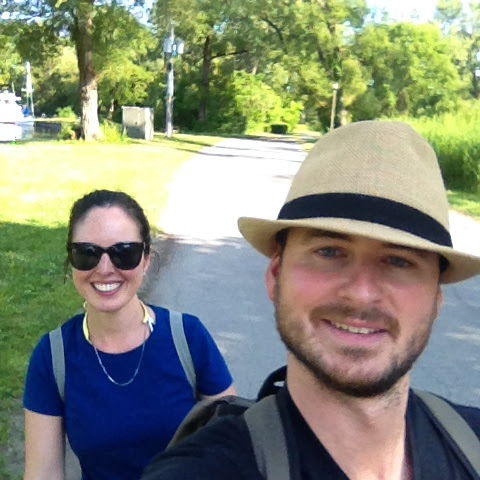 {ErinOutandAbout} Bike riding on Toronto Island