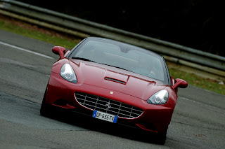 Ferrari California route