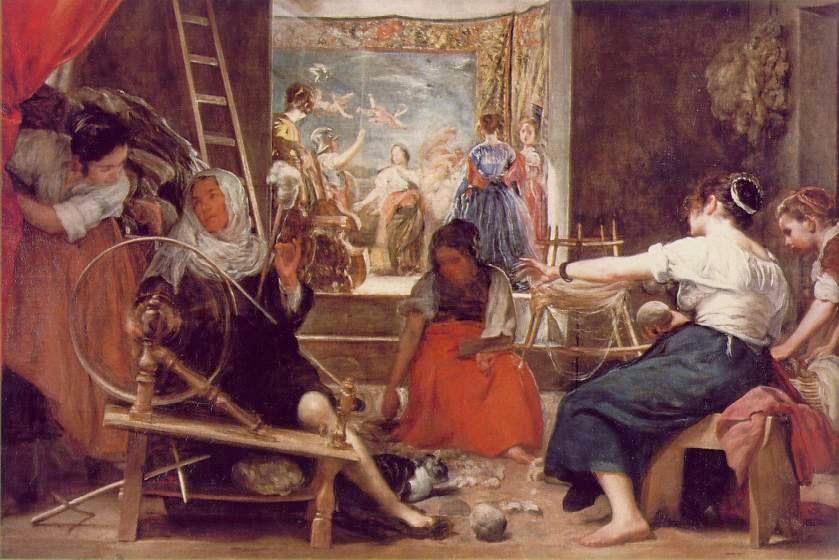 Las Hilanderas - Velázquez