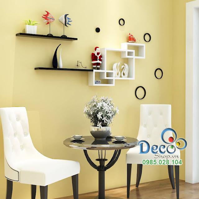 Kệ gỗ treo tường Deco KH35