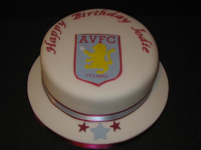 Carina S Cakes Aston Villa Cake