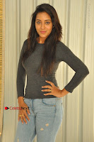 Actress Bhanu Tripathri Pos in Ripped Jeans at Iddari Madhya 18 Movie Pressmeet  0011.JPG