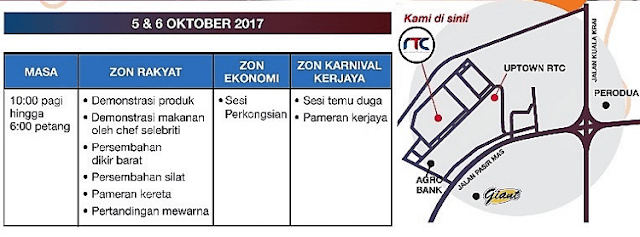 Karnival Kerjaya dan Keusahawanan Kelantan 2017