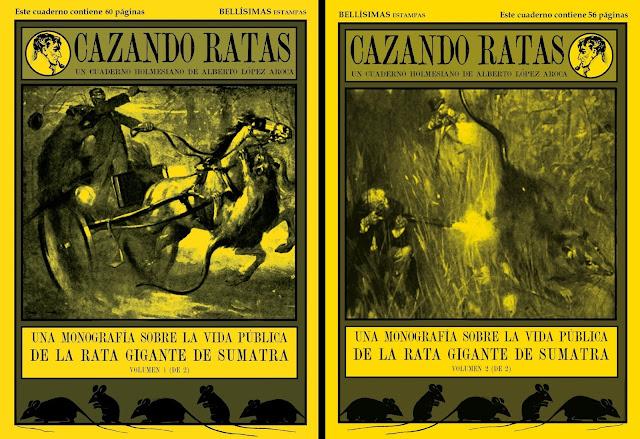 ¡NUEVO! CAZANDO RATAS: una monografía sobre la rata gigante de Sumatra (en 2 volúmenes). 12 euros