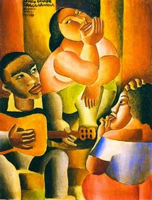 Samba - Di Cavalcante e suas principais pinturas ~ Pintando a realidade brasileira