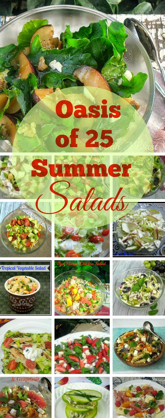 An Oasis of 25 Summer Salads