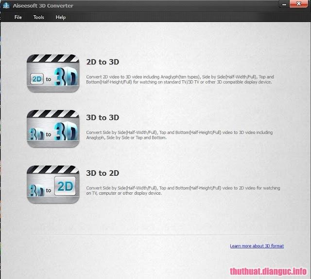 Aiseesoft 3D Converter 3.6.76 Full Crack Download - Convert 2D video to 3D