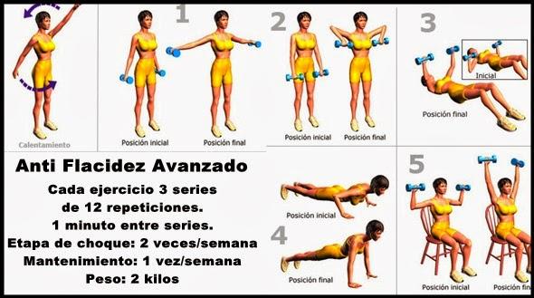 ejercicio para bajar de peso en los brazos