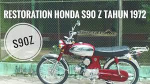 Honda S90 Ztahun 1972