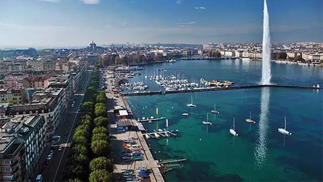 Geneva (Jenewa) ialah kota kedua terpadat di Swiss setelah Zurich.