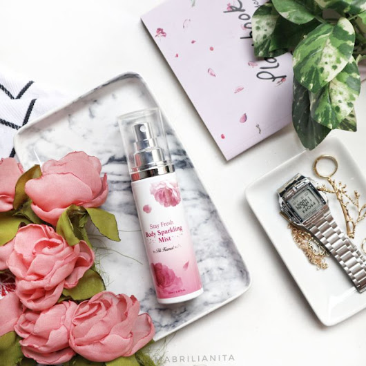 Rahma Brilianita: Stay Fresh Body Sparkling Mist by Titi Kamal X Althea Korea ~ Review