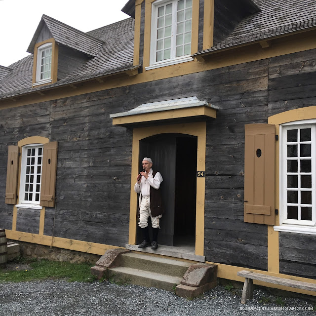 Fortress of Louisbourg Tour - Andrea Tiffany A Glimpse of Glam