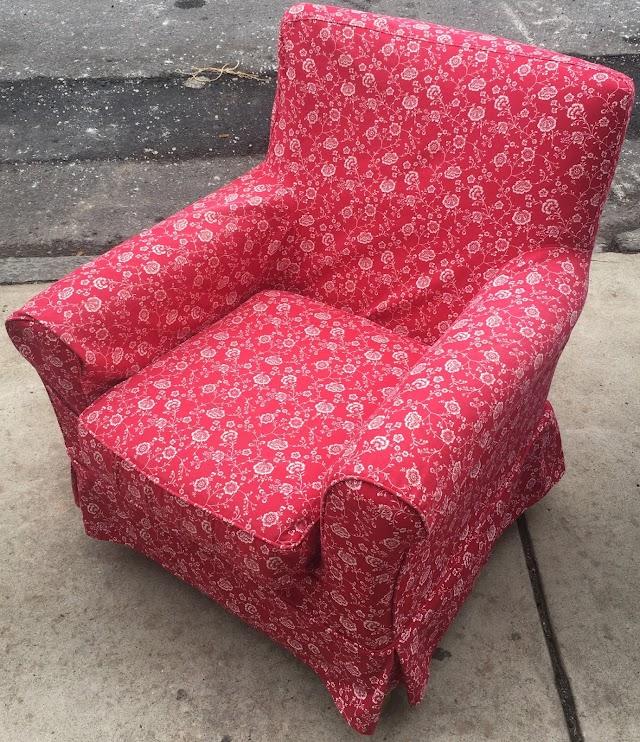 Skirted Armchair - $65