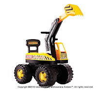 Ride-on Car SHP SBS712 Super Big Shovel