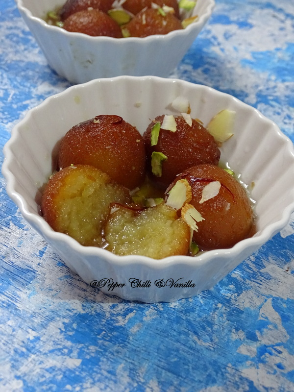 easy gulab jamun with nido
