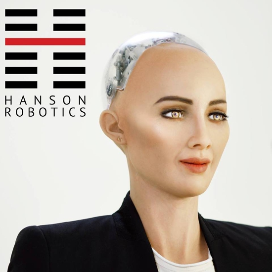 Sophia by Hanson Robotics