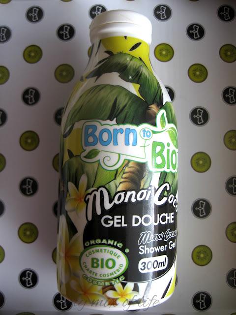 Born To Bio żel pod prysznic Monoi i Kokos