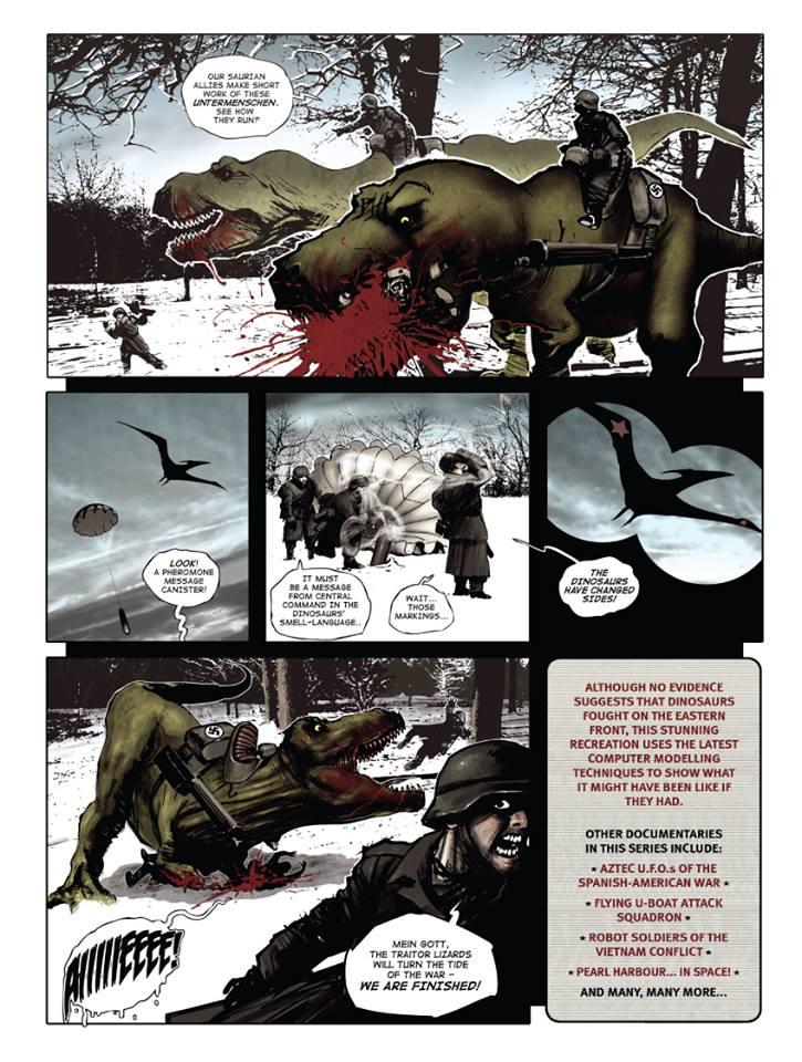 "Weird WWII: ""Dino..."