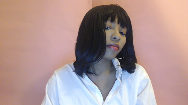 Bob wig with bangs : Beshe Bubble curlable - BBC Beth wig | Under $20 everyday wig