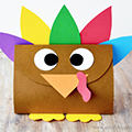 Thanksgiving Turkey Treat Bag