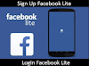 FB Lite Login or Sign Up Facebook