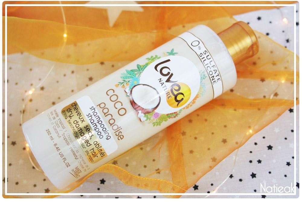 Lovea Nature shampoing Coco paradise