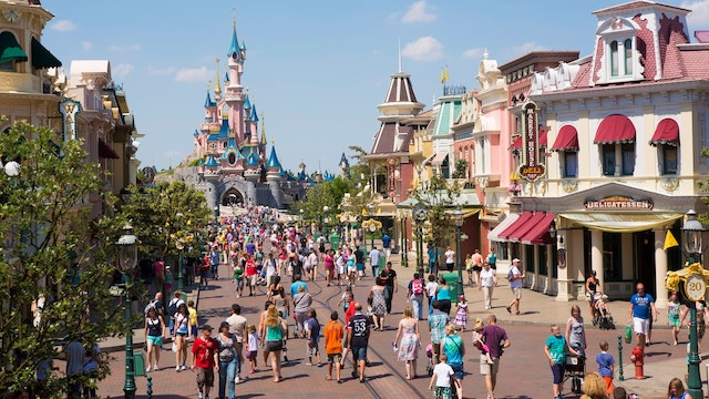 Parque Disneyland Paris - Main Street USA