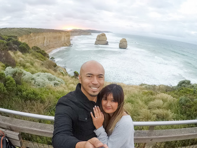 Engagement Announcement The Twelve Apostles Australia