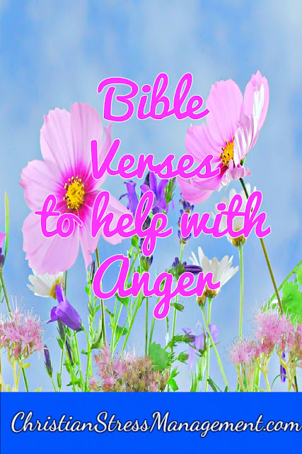 Bible verses to help with anger