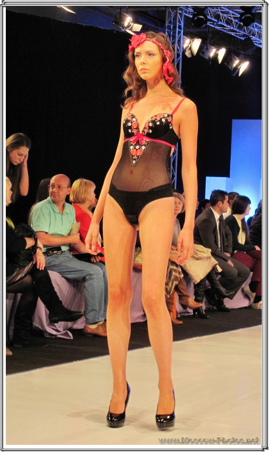 Lingerie Fashion Show at CPM Collection Premiere Moscow