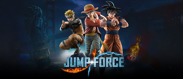 Jump Force. Platform PS4, Xbox One, PC.
