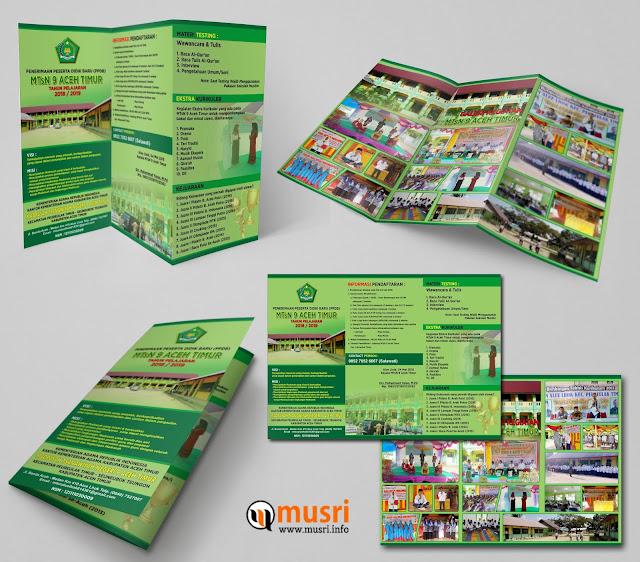 Brochure PPDB MTsN 9 Aceh Timur