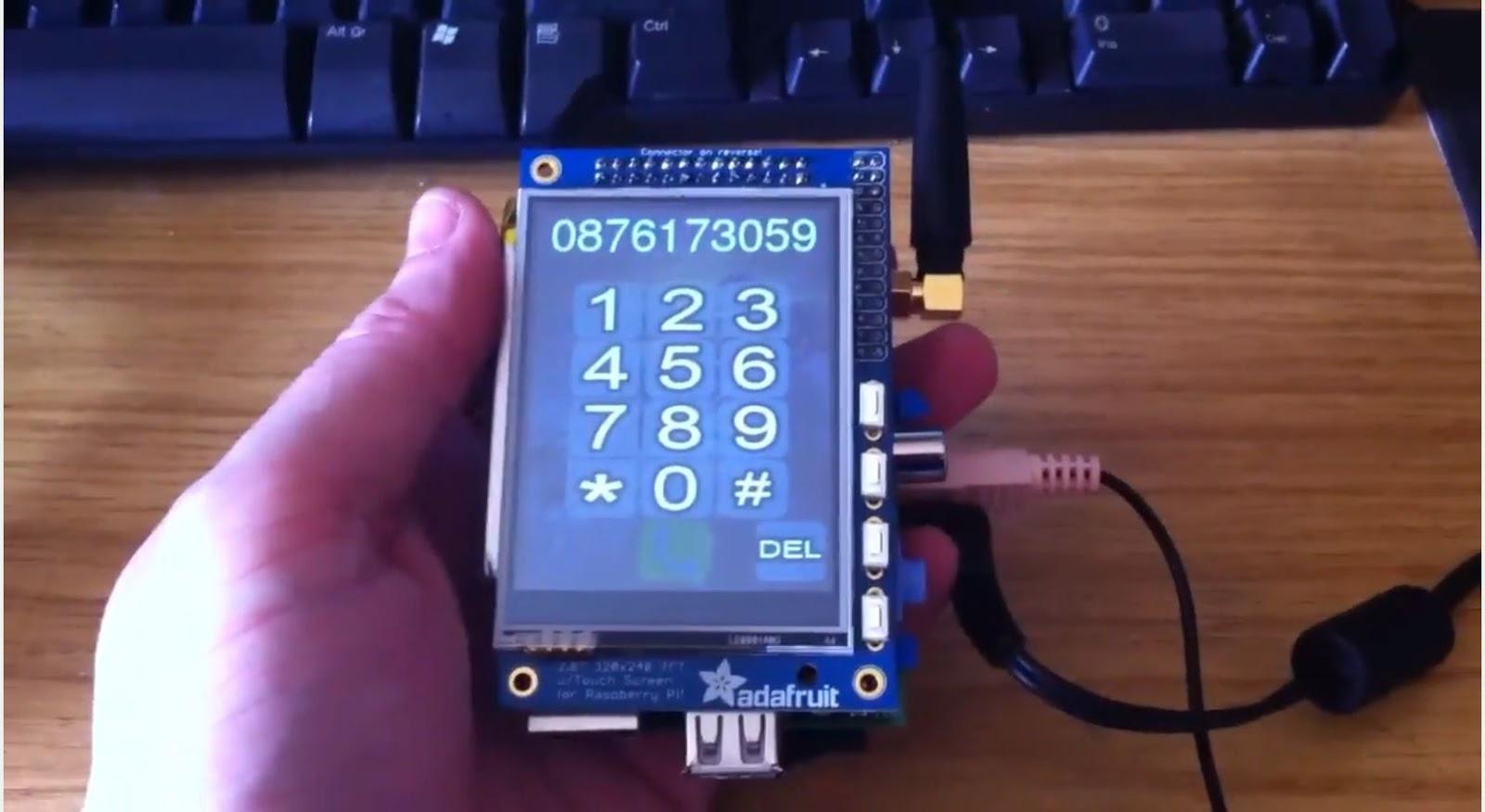 smartphone con raspberry pi