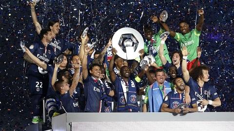 PSG giành chức vô địch Ligue I 2015 - 2016