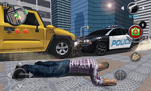 Grand Gangsters 3D v1.1 Mod Apk (Unlimited Money)2