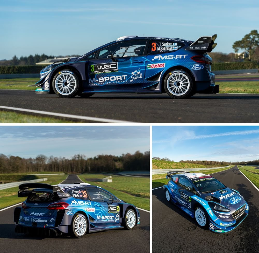 Ford Europe: The Ford Fiesta WRC's New Look