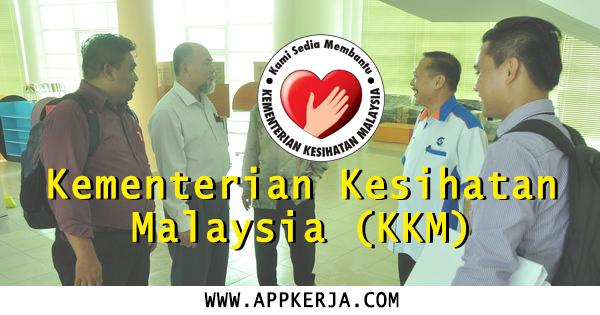 Jawatan Kosong di Kementerian Kesihatan Malaysia - 25 April 2018