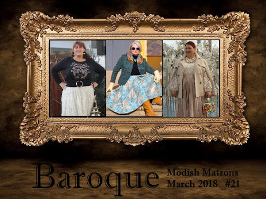 Modische Matronen Baroque modish matrons + Linkup